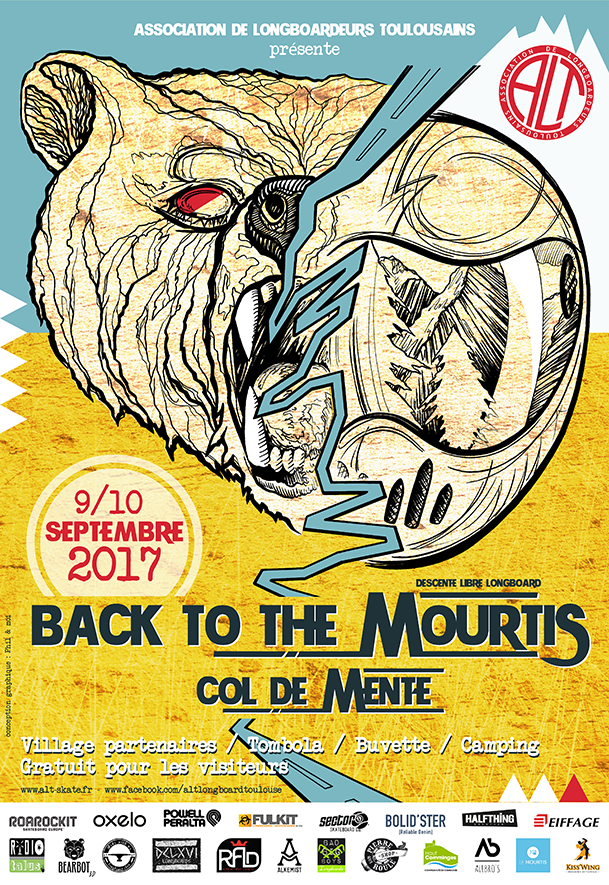 Affiche Back to the mourtis